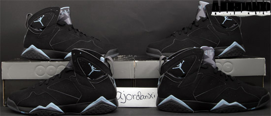 Air Jordan 7 Retro Black And Grey
