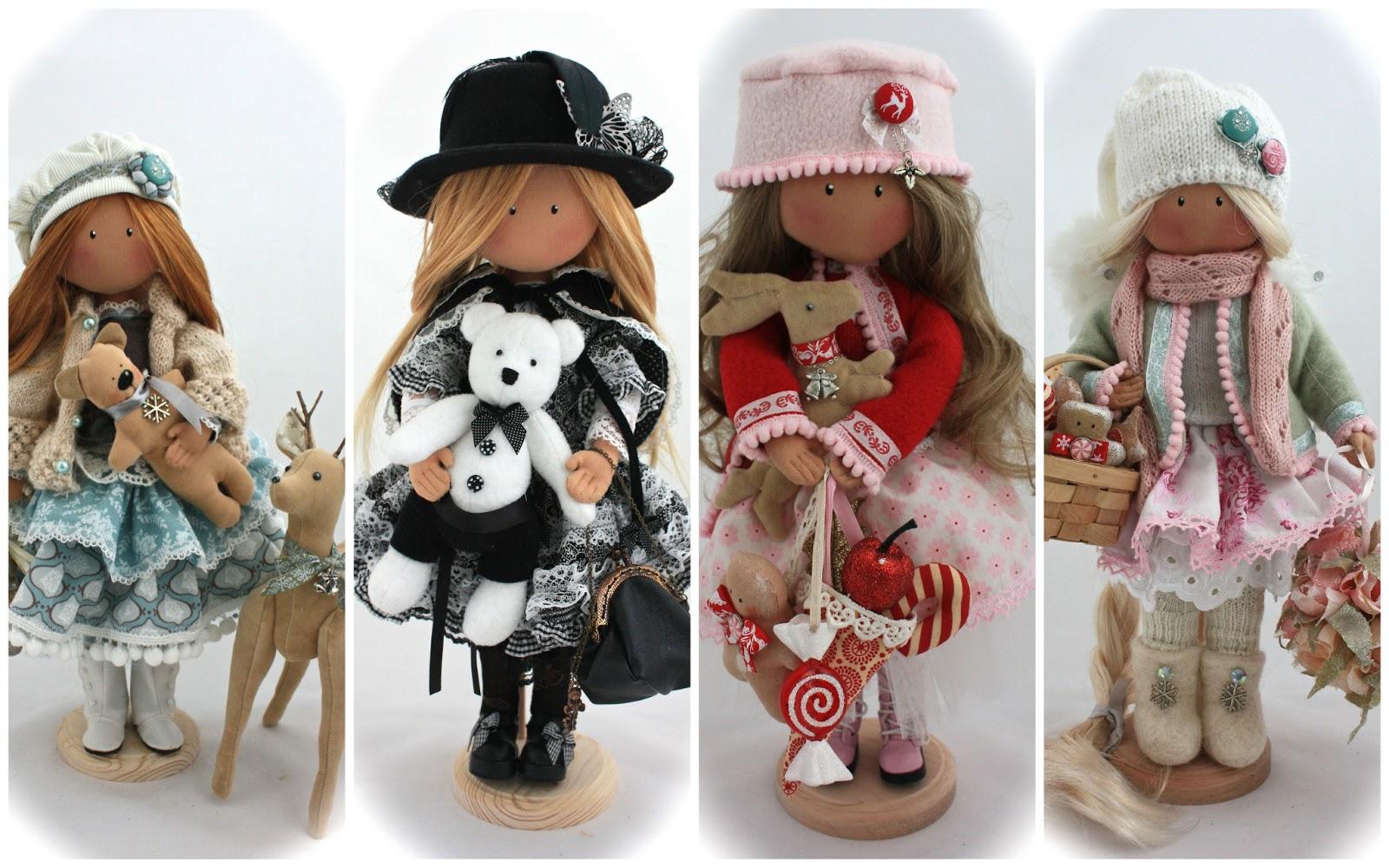 Куклы ручной работы своими руками