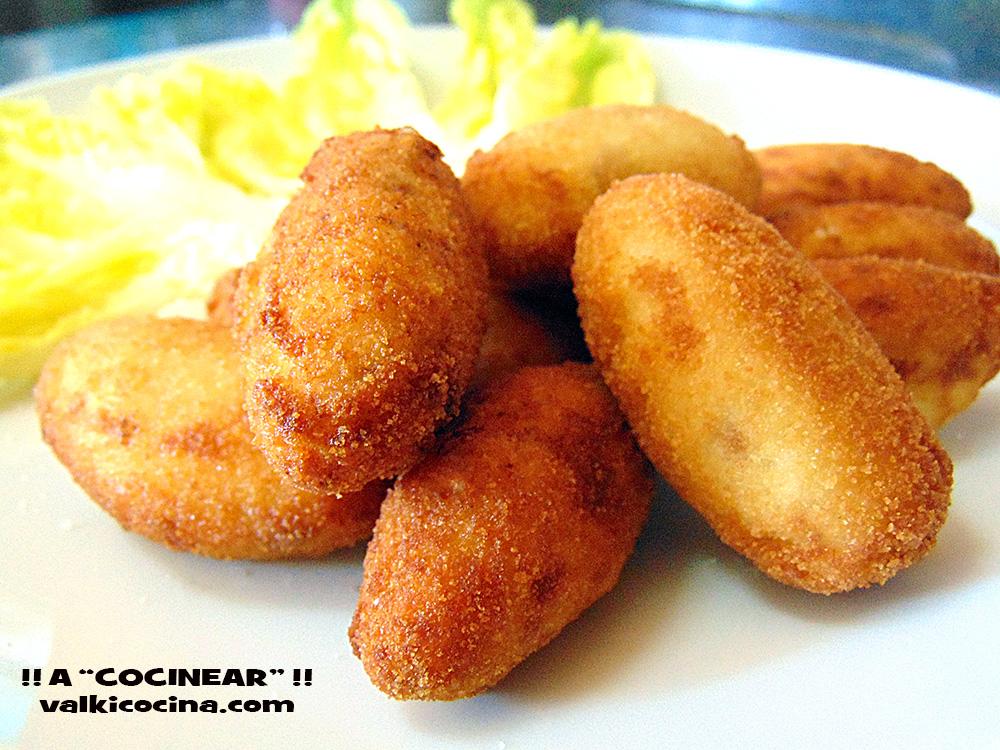 Croquetas caseras a cocinear recetas valkicocinacom for Casera m bel