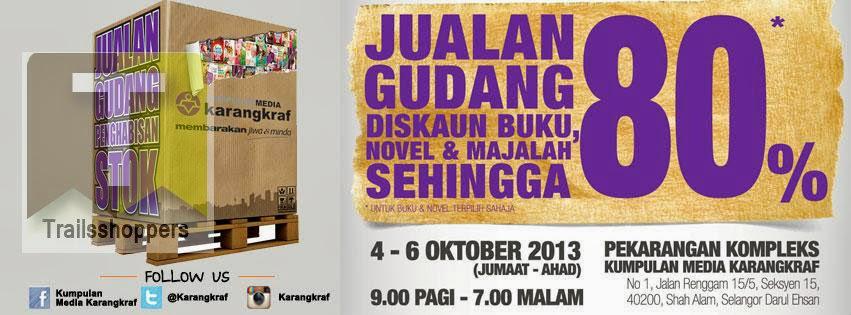 Karangkraf Media Group Warehouse Sale 2013