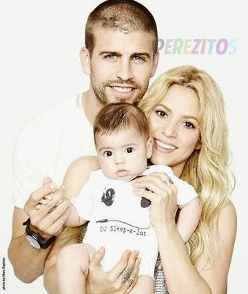 Shakira Milan and Gerard Pique