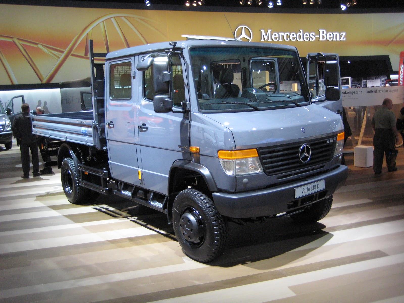 Idealist vs realist iaa 2010 for Mercedes benz vario 4x4 for sale