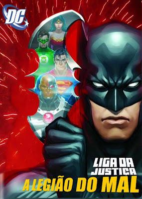 Liga da Justiça: A Legião do Mal - BDRip Dual Áudio
