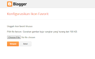 Choose File - Klik Simpan
