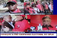 Começou no Cunene a pré-campanha eleitoral do MPLA