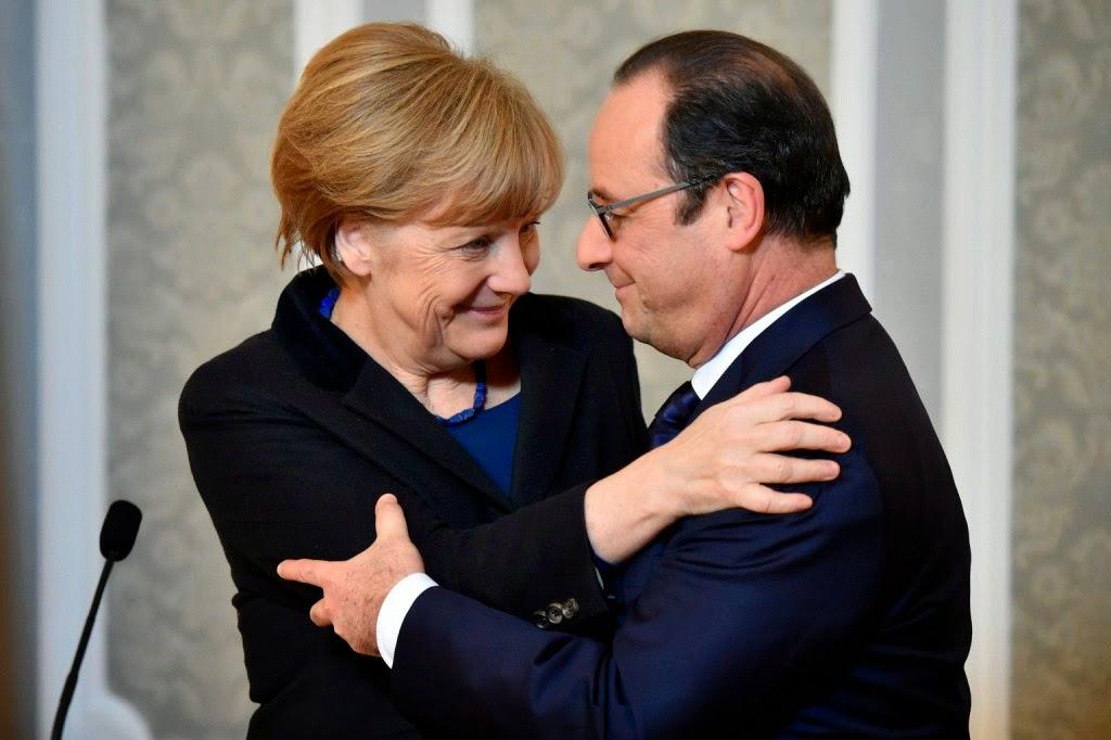 Angela Merkel, donyecki szakadárok, Kelet-Ukrajna, kelet-ukrajnai békemegállapodás, minszki tárgyalások, Oroszország, tűzszünet, Ukrajna, ukrán válság, Vlagyimir Putyin,