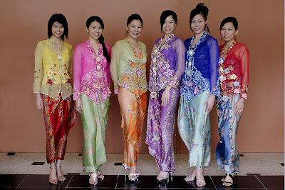Baju Kebaya Perpisahan Sekolah Remaja Model Encim untuk Wisuda