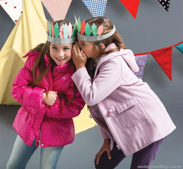 sacos niñas invierno 2013 falabella