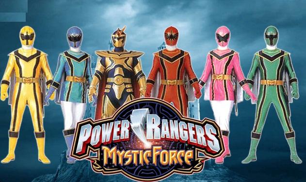 Serial Power Rangers Forta Mistica in Romana