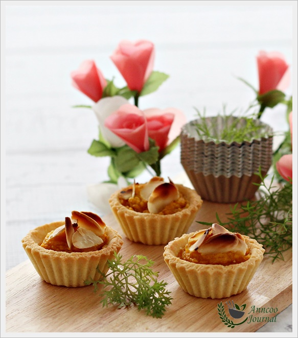 Mini Pumpkin Tarts | Anncoo Journal - Come for Quick and Easy Recipes