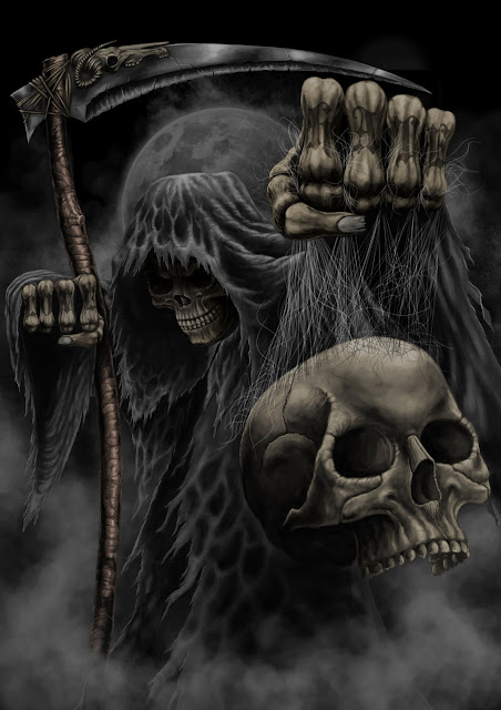 loathsome,grim reaper, wallpaper
