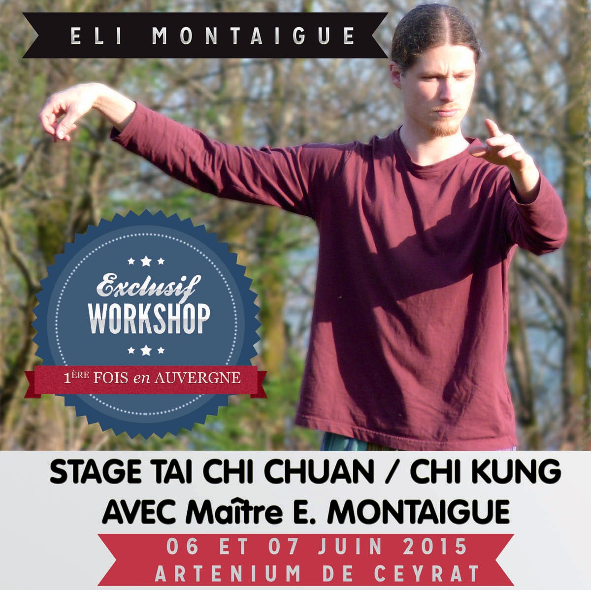 Stage Tai Chi Chuan / Chi Kung Auvergne Eli Montaigue