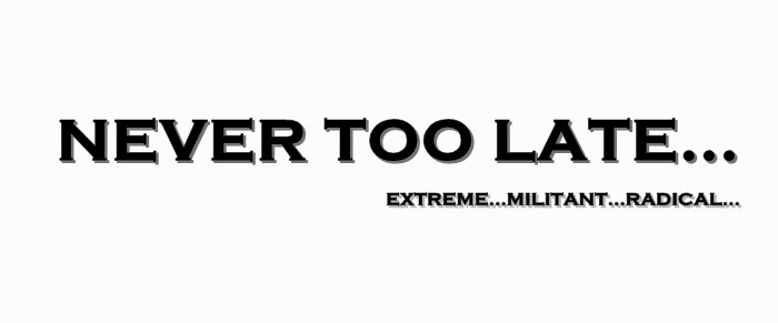 Never tOo late.......