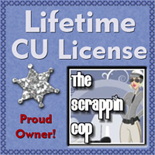 The Scrappin Cop Lifetime CU License