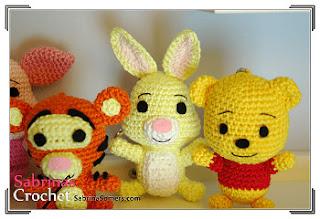 Free Amigurumi Patterns Uk : Free amigurumi patterns pooh bear piglet eeyore and tigger