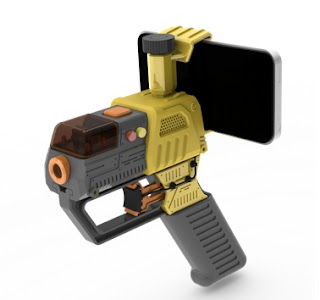 Pistol Laser untuk Bermain Bersama IPod dan IPhone (3 Gambar)