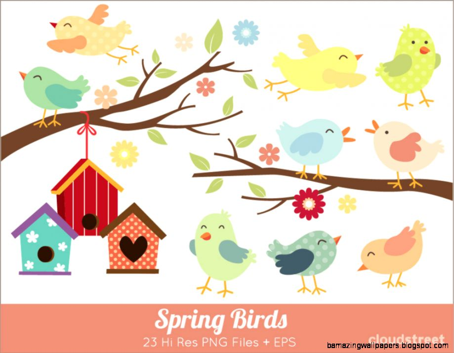 Popular items for bird clip art on Etsy