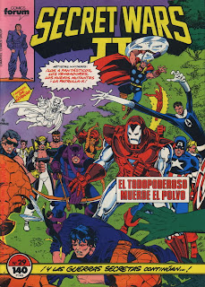 Comics Marvel Secret Wars 2