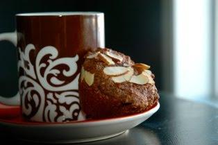 vroč kakav in čokoladni mafin pred spanjem │ za sprostitev │ moj jedilnik na današnji dan