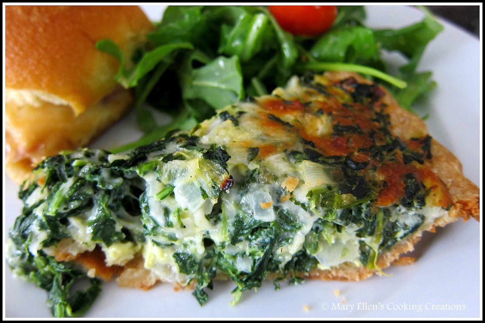 Spinach Pie - Let's Do Brunch!
