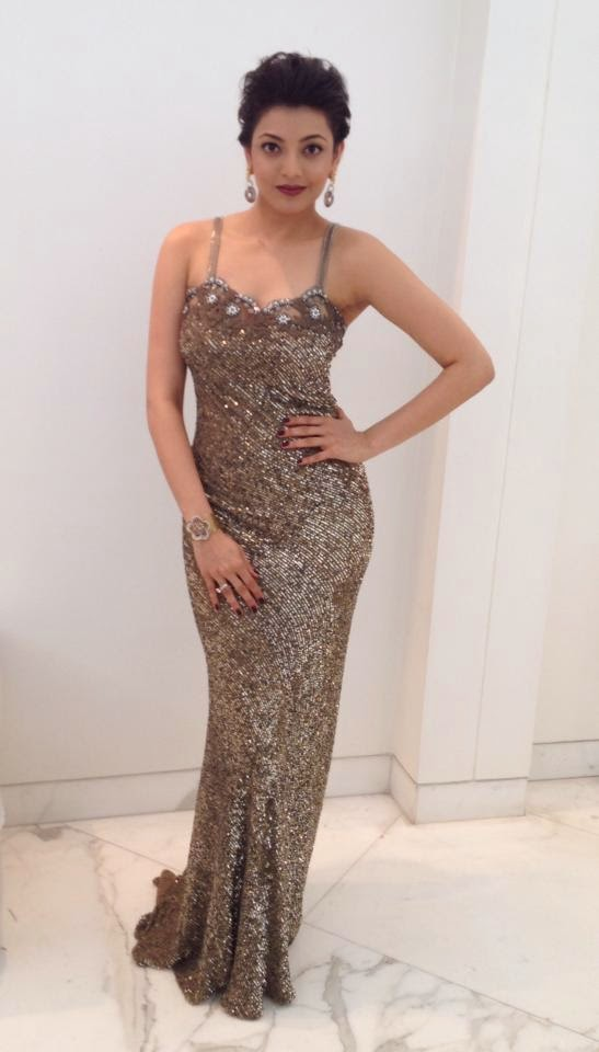 Kajal Aggarwal at Filmfare Awards 2014
