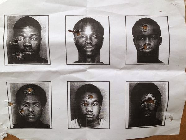 South Florida Police department mugshots of black men-target-practice-2014-01-15