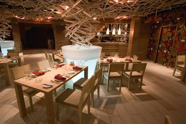 Cloud fever restaurant interior design inspirations for Restaurant interior design inspiration