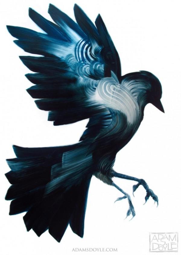 Belas pinturas de Animais e Aves na visão de Adam S. Doyle