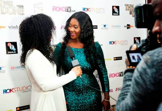 Mercy Johnson, Ramsey Nouah At London Movie Premiere