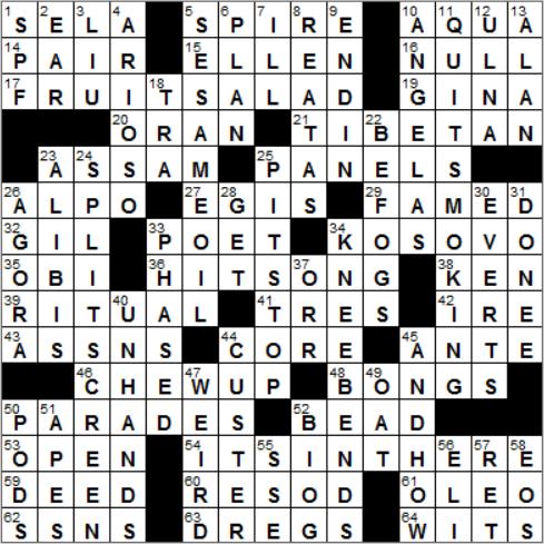 everest experts crossword clue