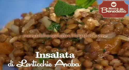 Insalata di lenticchie agrodolce ricetta parodi da i - Cucinare lenticchie in scatola ...