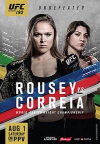 UFC 190 PPV Rousey vs Correia
