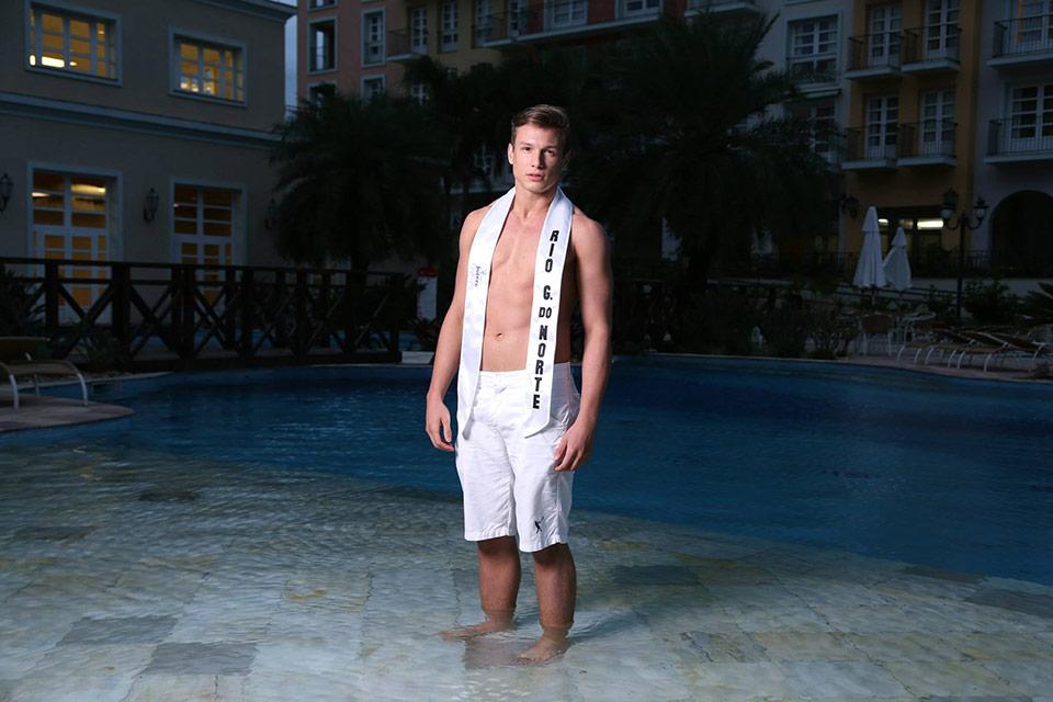 Mister Rio Grande do Norte - Rodrigo Galvão, 19 anos, 1,88 m - Foto: Leonardo Rodrigues