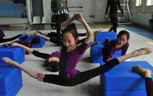 Gymnastics Training School - YouTube