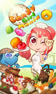 Screenshots of the Candy girl mania for Android tablet, phone.