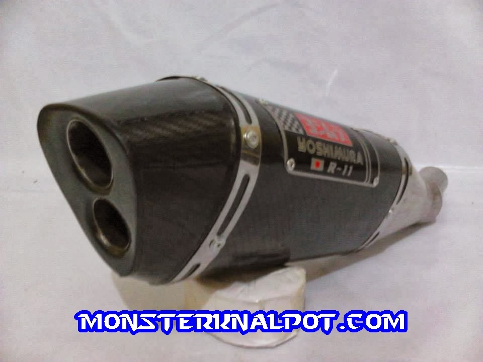 Knalpot Yoshimura R11 Carbon Two Hole