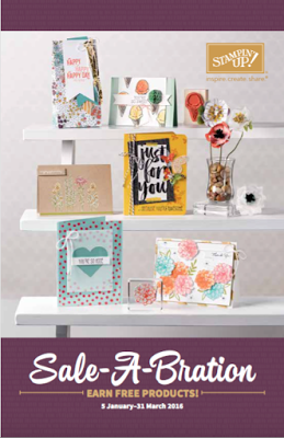 Stampin' Up! UK Sale-a-Bration 2016 Catalogue - get it here