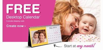 Free Desktop Calendar at Walgreens, 5/13