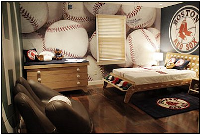 this room was designed by me i must say it was so fun decorating for a young man who love all things sports but loves the sport of basket ball most of