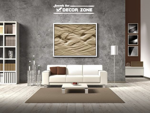 Modern wall design for living room