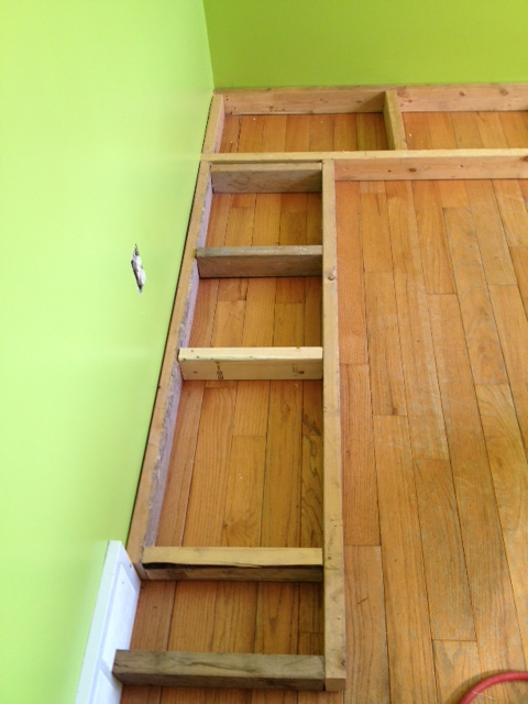 Banquette seating part 1 second chance to dream - Building a kitchen banquette ...