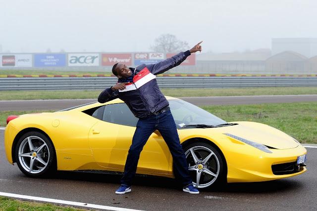 El Ferrari 599 de Usain Bolt