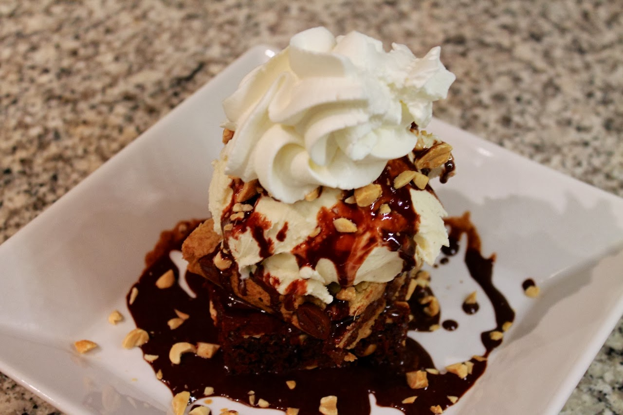 Brownie Blondie Sundae