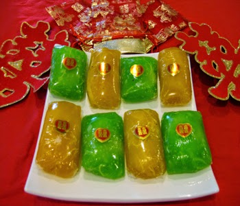 Husband and wife cake – banh phu the