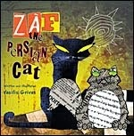 ZAF THE PERSIAN CAT- WRITTEN&ILLUSTRATED BY  GRIVAS VASILIS FOR TATE PUBLISHING-USA
