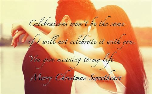 Lovely Christmas Greeting Messages For Boyfriends 2013