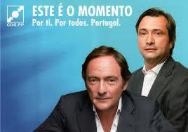 Nuno Magalhães e Paulo Portas CDS