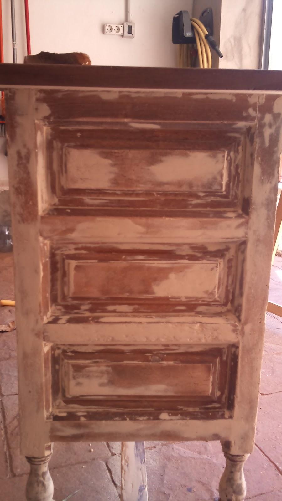 Bricoleando se pasa la vida mejor restaurar mueble antiguo - Reparar muebles antiguos ...