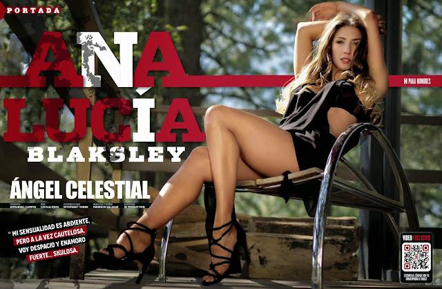 FOTOS: Ana Lucia Blaksley Revista H para Hombres - Mayo 2015