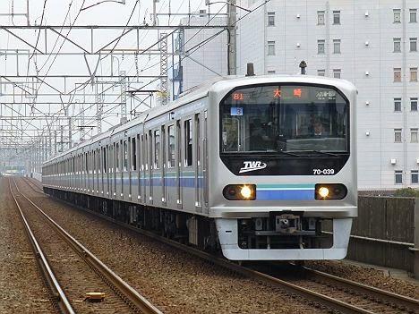 りんかい線 各駅停車 大崎行き2 70-000形